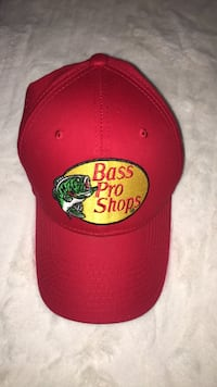 Red Bass Pro hat Cambridge