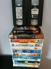 Assorted children's VHS tapes New Hamburg, N3A 2E3