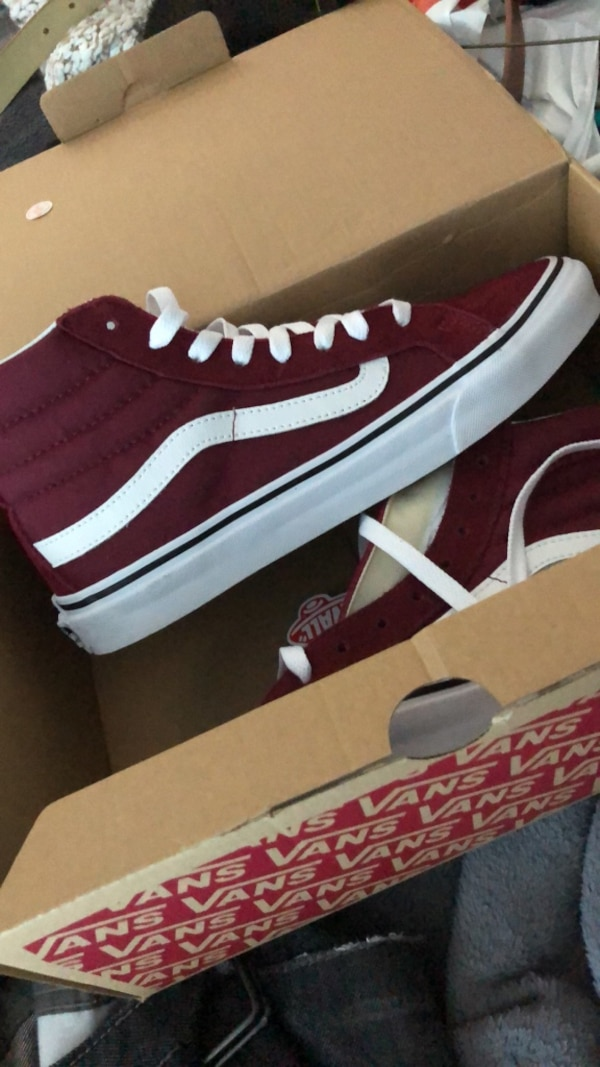 b48147877d Used Women s Hi-top Vans size 8.5 for sale in Mountain View - letgo