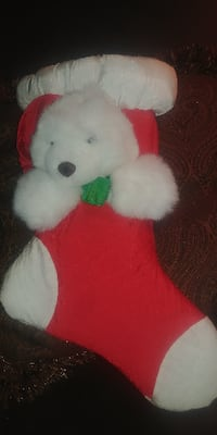 """NEW GIFTABLE 17"""" From Top to Toe BEAR STOCKING*IF AD'S UP, IT'S STILL AVAILABLE"""