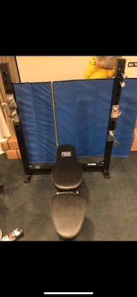 Black and blue exercise equipment null, 20862