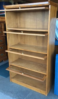 4 Tier Oak Barrister Bookcase / Bookshelf  Lakeville, 55044