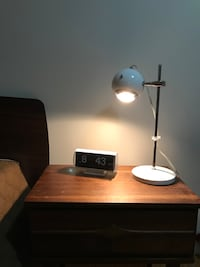 Mid-century eyeball desk lamp