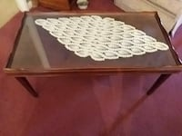 rectangular antique wooden coffee table Sparrows Point, 21219