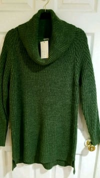 Andeawy Forest Green Scoop Neck Cozy Sweater XL Silver Spring, 20910