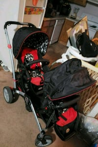 baby's black and red stroller Lakewood Township, 08701