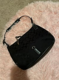 Coach black signature clip purse with wallet  Brick, 08723