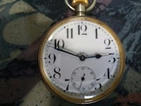 gold and silver pocket watch Kitchener, N2E 1G9