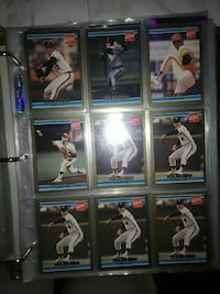 nine assorted baseball player trading cards Louisville, 40229