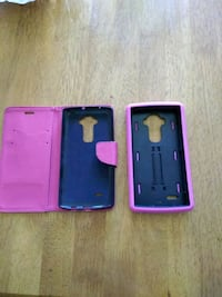 black android smartphone with pink case San Juan, 78589