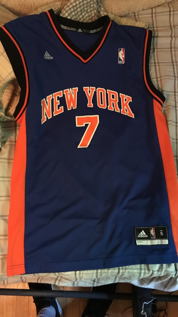 cd720aea008 Brukt CARMELO ANTHONY KNICKS JERSEY- SMALL. Very lightly worn. Will  negotiate til salgs i Bethel - letgo