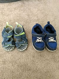 Shoes size 7t and 8t