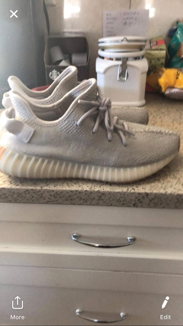 dd6b389366e Used Pair of gray adidas yeezy boost 350 for sale in Surrey - letgo