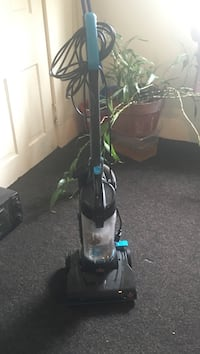 teal and black upright vacuum cleaner Lisbon, 44432