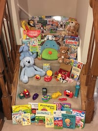 GIANT Lot of Baby & Young Child Toys, Backpacks, Books, CD Player, Stuffed Animals & More Vienna, 22180
