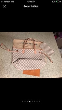 Louis Vuitton Neverfull MM Damier Azul