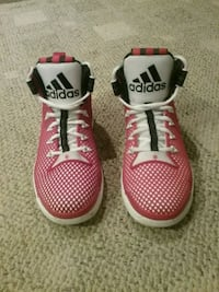 Adidas boost d rose 6, red, white, and black Burke, 22015