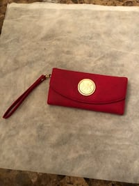 red leather Michael Kors wristlet Alexandria, 22311