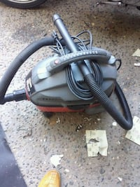 black and gray canister vacuum cleaner Fresno, 93705