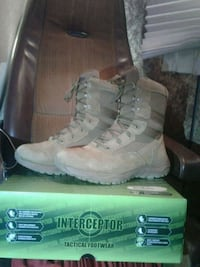 Tactical work boots