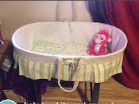 Moses bassinet and rocker