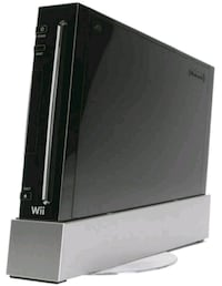 black wii with controller. comes w/wii sport game. Cow Bay, B3G 1K1