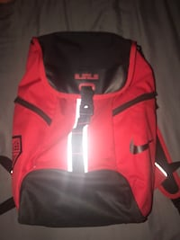 red and black Nike backpack Fresno, 93705
