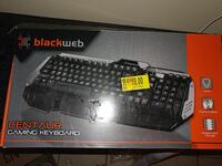 Black web gaming keyboard  McAllen, 78501
