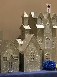 3 Piece Glitter Houses Los Angeles, 90744