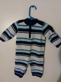 Boys' Old Navy overall pants; size: 3-6 months