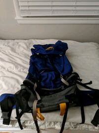 Kelty blue and black backpacking bag Vienna, 22180