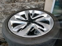 "Airdrie 21"" Ford Edge Mag Wheels"