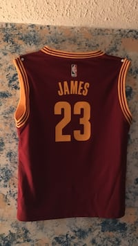 red James 23 basketball jersey Woodbury, 37190
