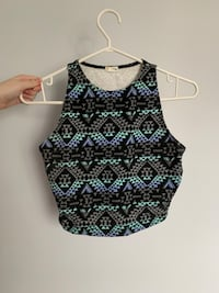 Patterned crop small