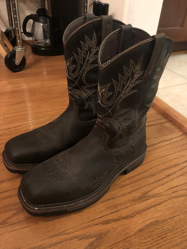 ARIAT Composite Toed Work Boots size 12.5