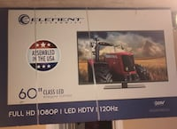 "60"" Element (by Samsung) glass LED TV"