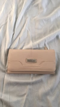 brun lær clutch bag Fevik, 4870