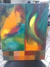 """""""Abstract"""" Canvas Painting 19x16 Birmingham, 35233"""
