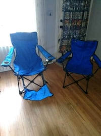 His and hers folding chairs with carrying bag.  i Baltimore, 21222