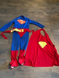 Boys Super-Man costume - Size small 4-5T- $10 Markham, L3R 9L4