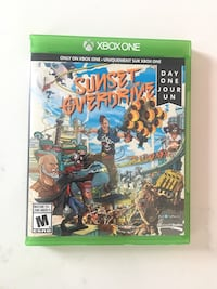 Xbox One Sunset Overdrive game