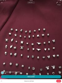 Silver-colored pandora style charms can sell all o Brooklyn Center, 55429