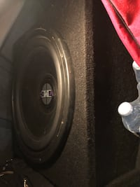 """15"""" Sub with Amp and wiring"""
