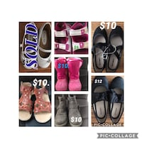 Girls shoes/Sandals/Boots Price various on shoes Mississauga, L5V