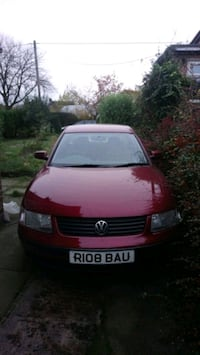 red Volkswagen Passat car Leicestershire, LE67 9RB