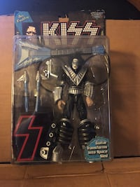 Kiss - Ace Frehley -Ultra Action Figurine - Guitar transforms into Space Sled - Mint Poughkeepsie, 12603