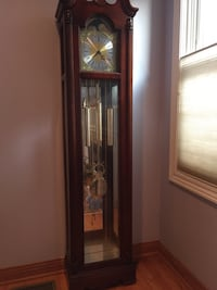 Grandfather clock. howard miller.