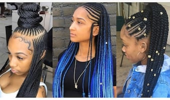 Hair style Braids/ Special Holiday