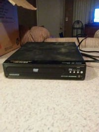 black Sony DVD player with remote Phoenix, 85033
