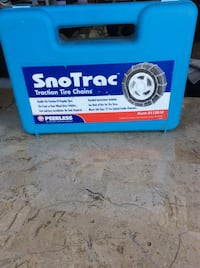 SnoTrac Traction Chains $40 new never used